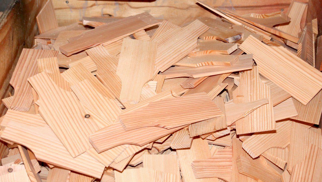 Rhöner Holzschindeln aus eigener Produktion