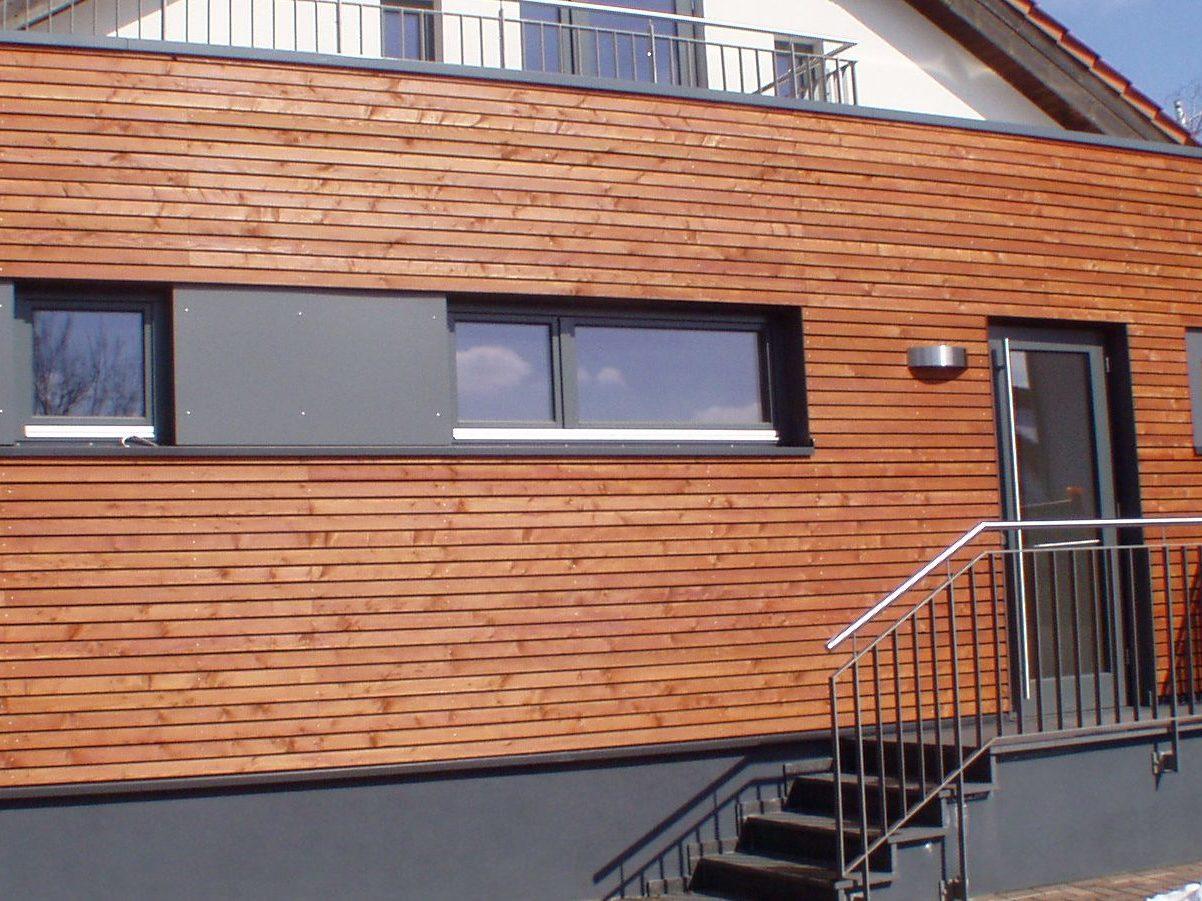 Leistenverschalung Heil Fassadenbau